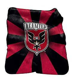 MLS D.C. United Logo Chair Raschel Throw