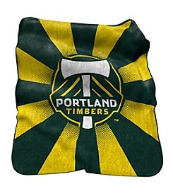 MLS Portland Timbers Logo Chair Raschel Throw