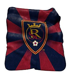 MLS Real Salt Lake Logo Chair Raschel Throw