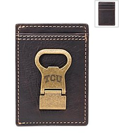 Jack Mason Men's Texas Christian University Gridiron Multicard Wallet