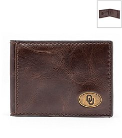Jack Mason Men's University of Oklahoma Legacy Flip Bifold Wallet