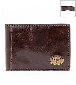 Jack Mason Men's University of Texas Legacy Flip Bifold Wallet