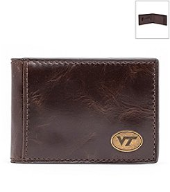 Jack Mason Men's Virginia Tech University Legacy Flip Bifold Wallet
