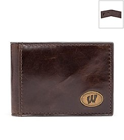 Jack Mason Men's University of Wisconsin Legacy Flip Bifold Wallet