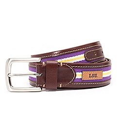 Jack Mason Men's Louisiana State University Tailgate Belt