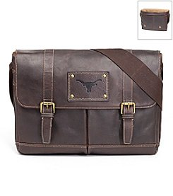 Jack Mason Men's University of Texas Gridiron Messenger Bag