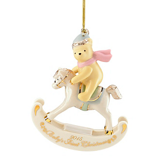Lenox® 2015 Disney® Winnie The Pooh Baby's First Christmas Ornament