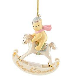 Lenox® 2014 Disney® Winnie The Pooh Baby's 1st Christmas Ornament