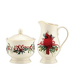Lenox® Winter Greetings Sugar And Creamer Set