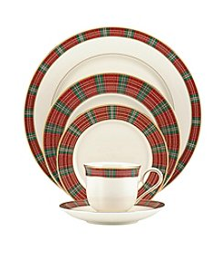 Lenox® Winter Greetings Plaid 5-Pc. Place Setting
