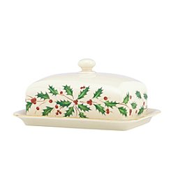 Lenox® Holiday Covered Butter Dish