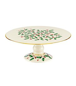 Lenox® Holiday Entertaining Footed Cake Plate