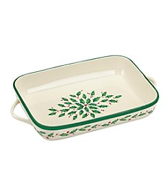 Lenox® Holiday Rectangular Baker