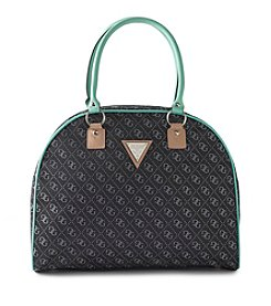 GUESS Woodhaven Dome Black Travel Tote