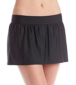 ECO SWIM® by Aqua Green® Banded Swim Skirt