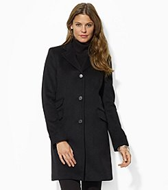 Lauren Ralph Lauren® Reefer Wool Blend Coat