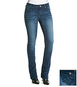 Hydraulic® Soft Touch Curvy Knit Denim Micro Bootcut Jeans