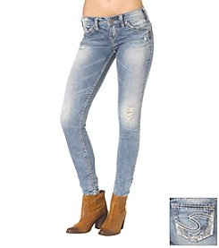 Silver Jeans Co. Aiko Slight Destruction Jeans