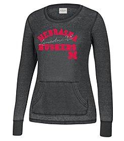 J America® Women's University of Nebraska Zen Thermal Long Sleeve Tee