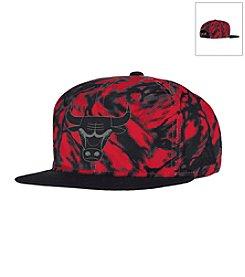 adidas® Men's Chicago Bulls Immortal Flat Brim Snap Back Hat