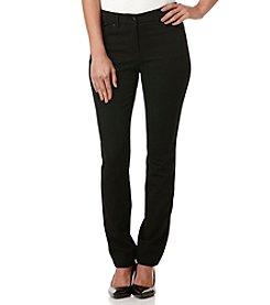Rafaella® Ridge Twill Five Pocket Pants