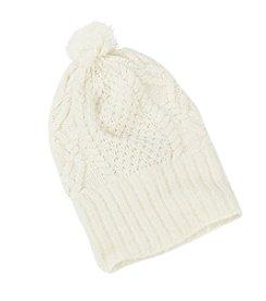 Lauren Ralph Lauren Mohair Dipped Aran Cuff Hat