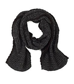 Lauren Ralph Lauren Pointelle Sideways Cable Scarf
