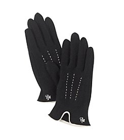 Lauren Ralph Lauren Contrast Points Touch Gloves
