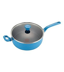 T-fal® Excite 4.5-qt. Turquoise Covered Deep Saute Pan