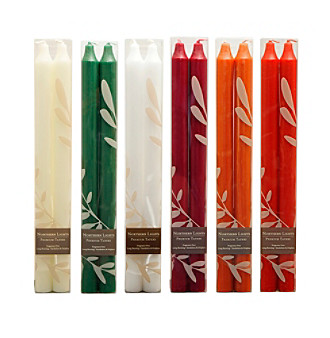 Northern Lights Candles 2-pk Tapers