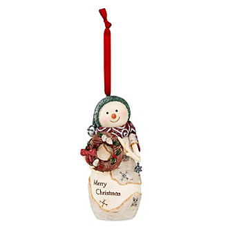 "Pavilion Gift Company® Birchhearts ""Merry Christmas"" Snowman Ornament"