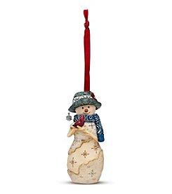 Pavilion Gift Company® Birchhearts Holiday Spirit Snowman Ornament