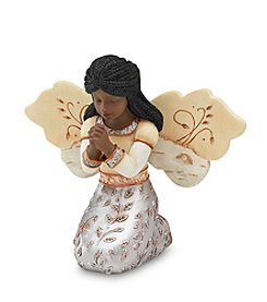 Pavilion Gift Company® Ebony Kneeling Girl Angel Figurine