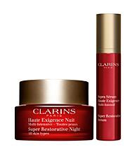 Clarins Super Restorative Anti-Aging Nighttime Gift Set