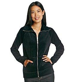 Jones New York Sport® Petites' Velour Jacket