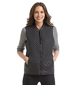 Jones New York Signature® Petites' Quilted Zip Vest