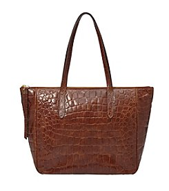 Fossil® Sydney Croco Shopper