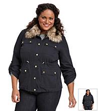MICHAEL Michael Kors® Plus Size Faux Fur Anorak