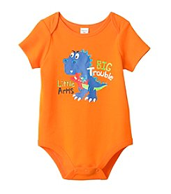 Cuddle Bear® Baby Boys Short Sleeve T-Rex Bodysuit
