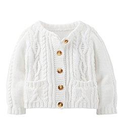 Carter's® Baby Girls' Long Sleeve Cardigan