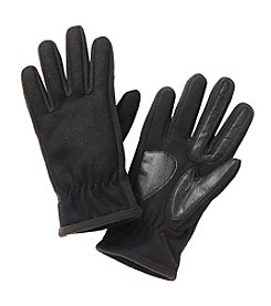 Isotoner® Men's Smartouch Wool with Back Gather Gloves