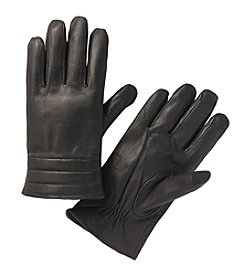 Calvin Klein Men's Leather Quilted Cuff Glove