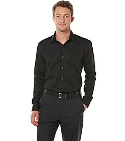 Perry Ellis® Men's Big & Tall Long Sleeve Twill Dress Shirt