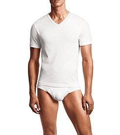 Calvin Klein Men's 3 Pack Body Short Sleeve V-Neck Tee