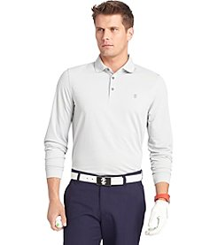Izod® Men's Long Sleeve Knit Polo Shirt