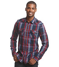 Buffalo by David Bitton Men's Medium Multi Plaid Buttondown Shirt