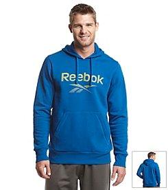Reebok® Men's Long Sleeve Pullover Fleece Hoodie