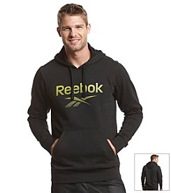 Reebok® Men's Long Sleeve Pullover Fleece Hoodie