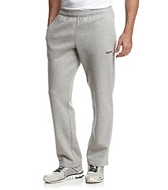 Reebok® Men's Medium Grey Heather Active Fleece Pants