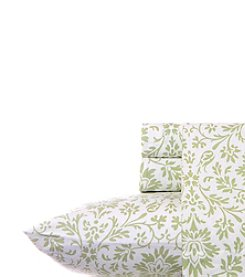 Laura Ashley® Home Jayden Flannel Sheet Set